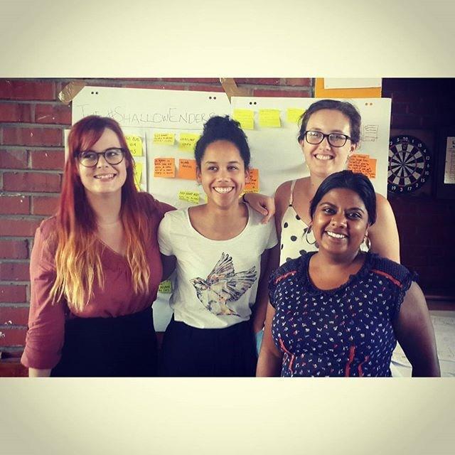 All women hackathon group