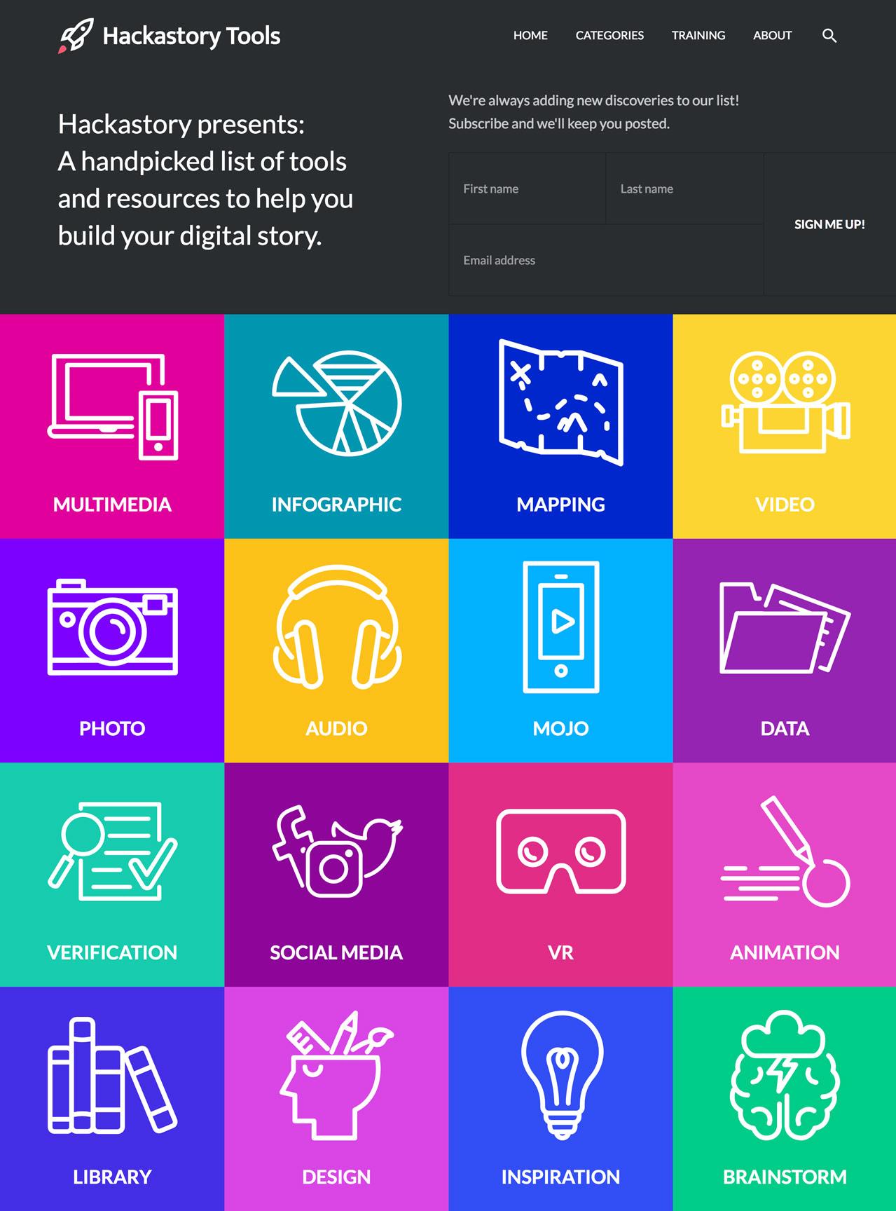 Hackastory - DigitalStory.Tools